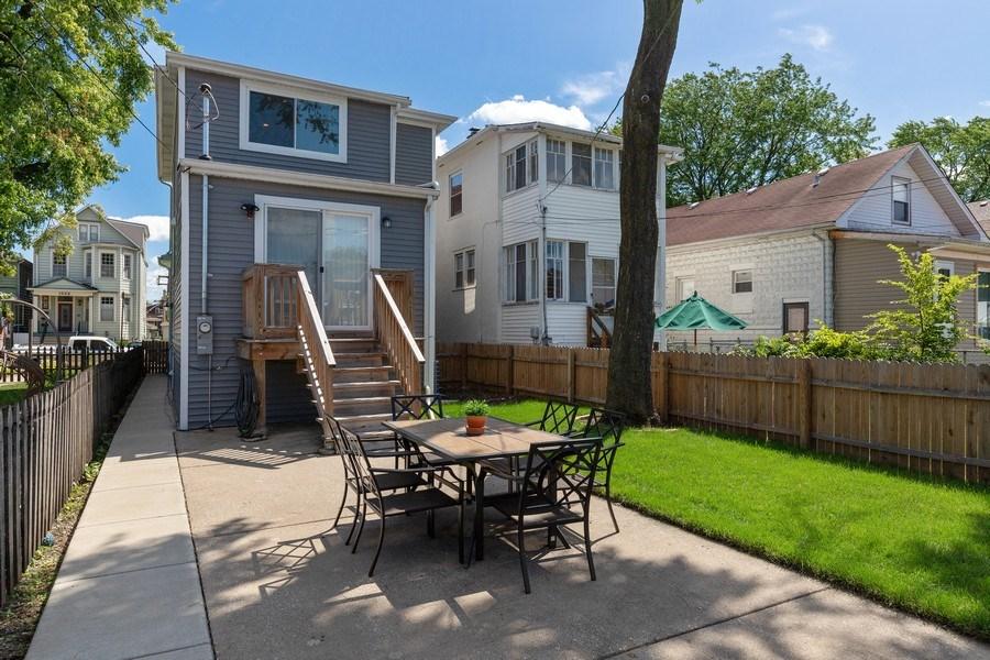 Real Estate Photography - 1226 Elmwood Ave, Berwyn, IL, 60402 - Back Yard
