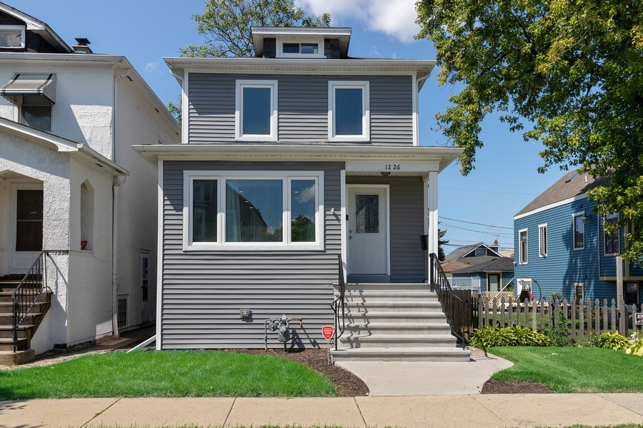 Real Estate Photography - 1226 Elmwood Ave, Berwyn, IL, 60402 - Front View