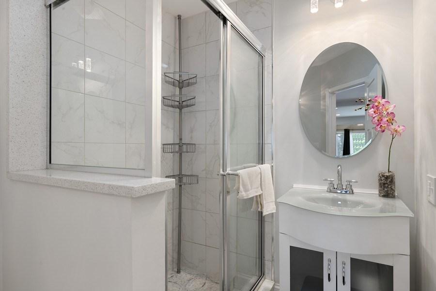 Real Estate Photography - 1226 Elmwood Ave, Berwyn, IL, 60402 - Bathroom