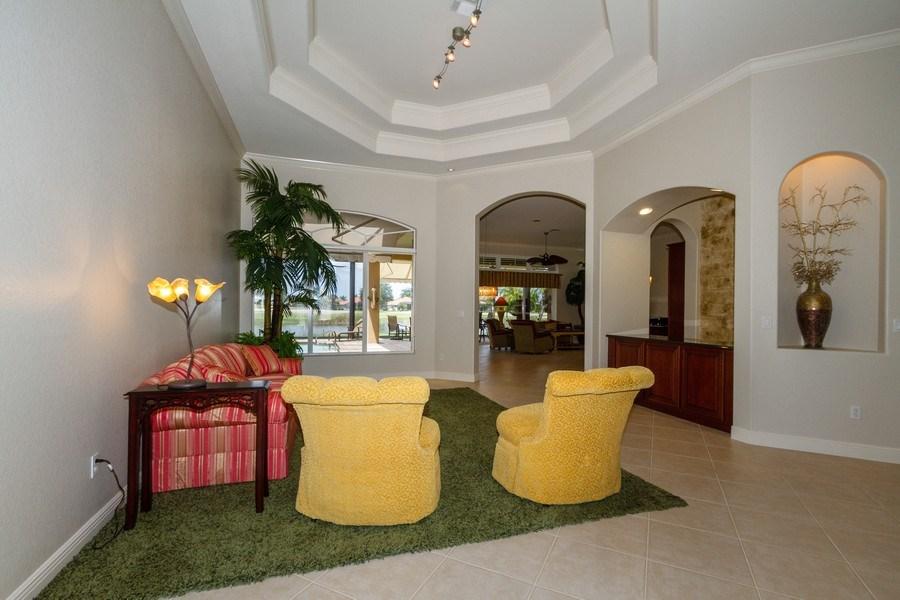 Real Estate Photography - 5075 Castlerock Way, Naples, FL, 34112 - Living Room