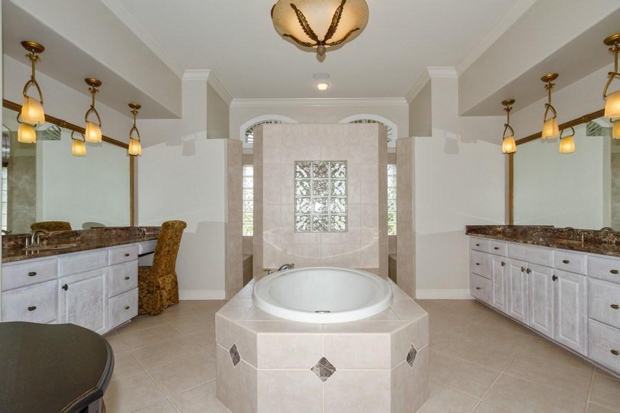 Real Estate Photography - 5075 Castlerock Way, Naples, FL, 34112 - Master Bathroom