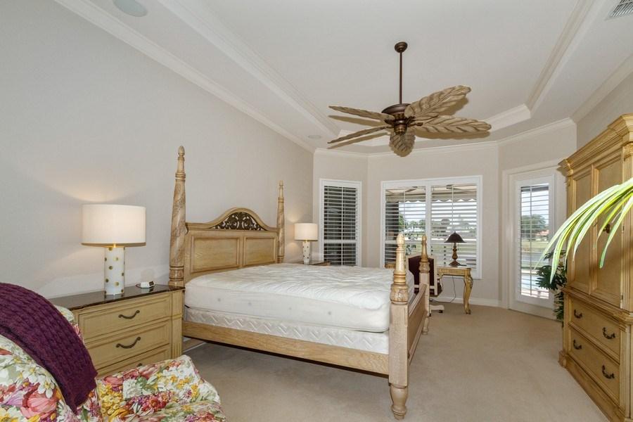 Real Estate Photography - 5075 Castlerock Way, Naples, FL, 34112 - Master Bedroom