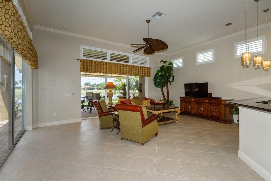 Real Estate Photography - 5075 Castlerock Way, Naples, FL, 34112 - Family Room