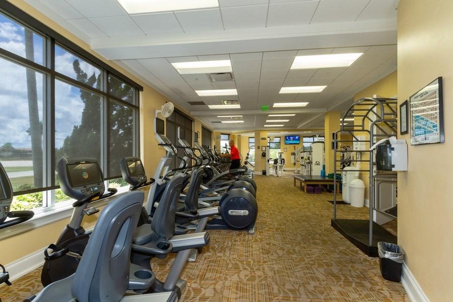 Real Estate Photography - 5075 Castlerock Way, Naples, FL, 34112 - Fitness Center