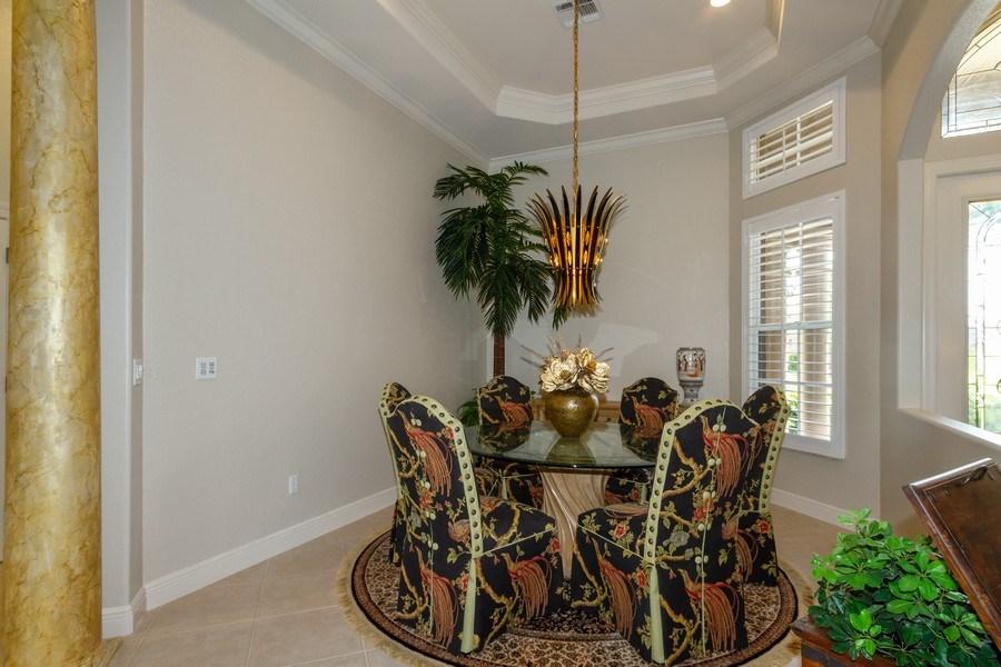 Real Estate Photography - 5075 Castlerock Way, Naples, FL, 34112 - Dining Room