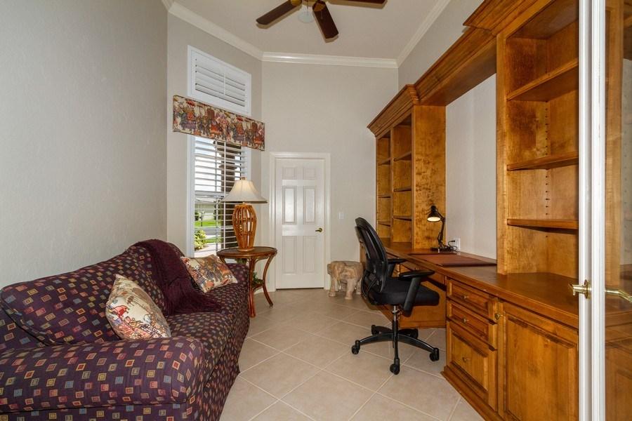 Real Estate Photography - 5075 Castlerock Way, Naples, FL, 34112 - Den