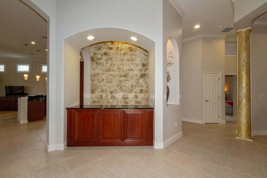 Real Estate Photography - 5075 Castlerock Way, Naples, FL, 34112 - Bar