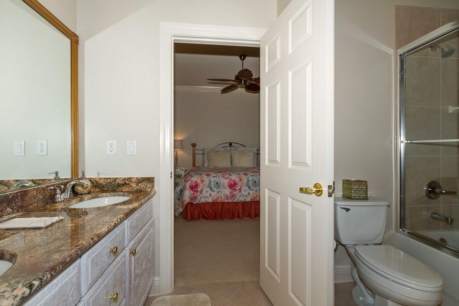 Real Estate Photography - 5075 Castlerock Way, Naples, FL, 34112 - 2nd Bathroom