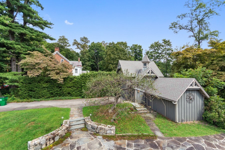 Real Estate Photography - 246 Main St, Cold Spring, NY, 10516 - View from balcony / deck from master bed room