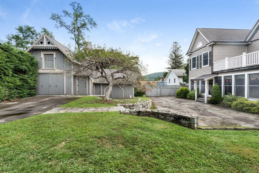 Real Estate Photography - 246 Main St, Cold Spring, NY, 10516 - Back Yard