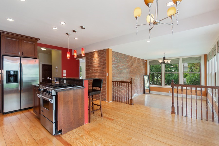 Real Estate Photography - 246 Main St, Cold Spring, NY, 10516 - Kitchen / Dining Room