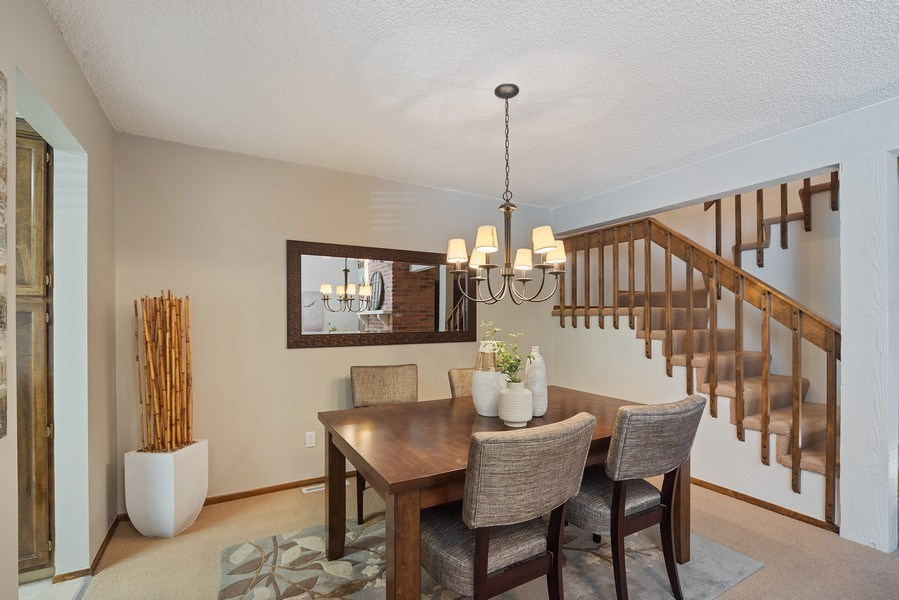 Real Estate Photography - 9989 Grove Way, Unit B, Westminster, CO, 80031 - Dining Room