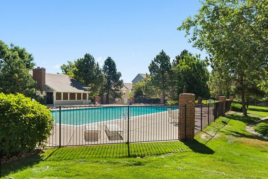 Real Estate Photography - 9989 Grove Way, Unit B, Westminster, CO, 80031 - Pool