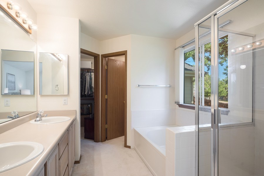 Real Estate Photography - 10956 Bryant St, Westminster, CO, 80234 - Master Bathroom