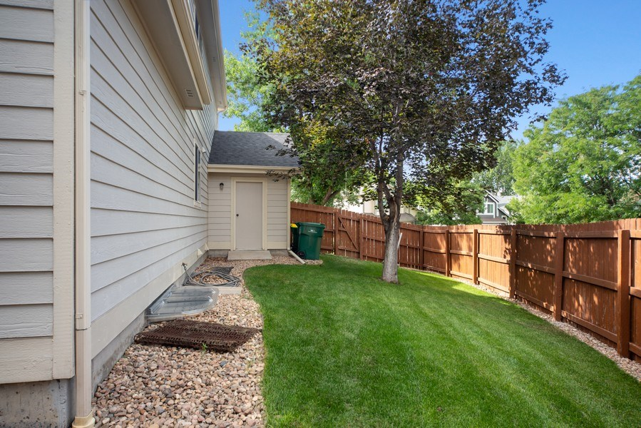 Real Estate Photography - 10956 Bryant St, Westminster, CO, 80234 - Side Yard
