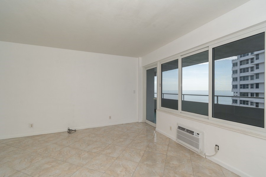 Real Estate Photography - 4050 N Ocean, Unit 1103, Lauderdale by the Sea, FL, 33308 - Living Room