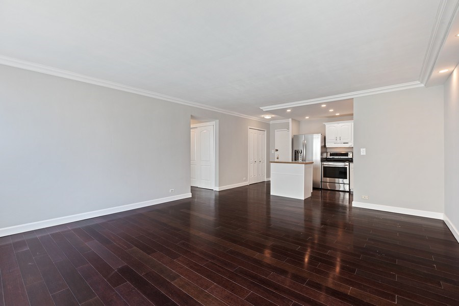 Real Estate Photography - 3600 N. Lake Shore Drive, Unit 1608, Chicago, IL, 60613 - Living Room