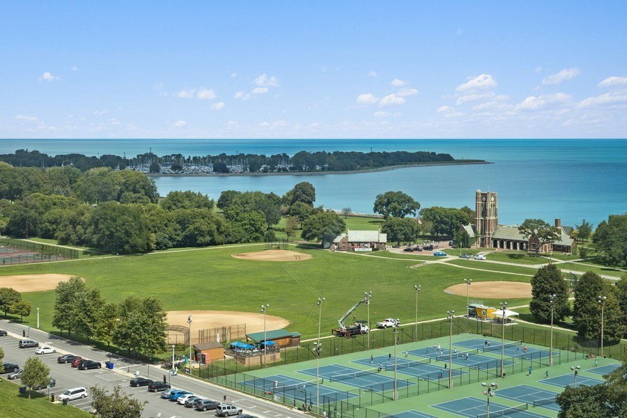 Real Estate Photography - 3600 N. Lake Shore Drive, Unit 1608, Chicago, IL, 60613 - View