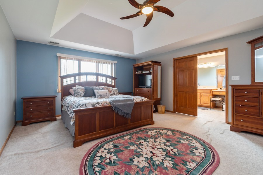 Real Estate Photography - 21212 Georgetown Road, Frankfort, IL, 60423 - Master Bedroom