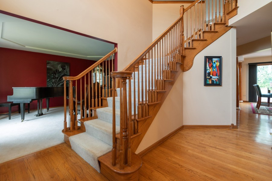 Real Estate Photography - 21212 Georgetown Road, Frankfort, IL, 60423 - Foyer