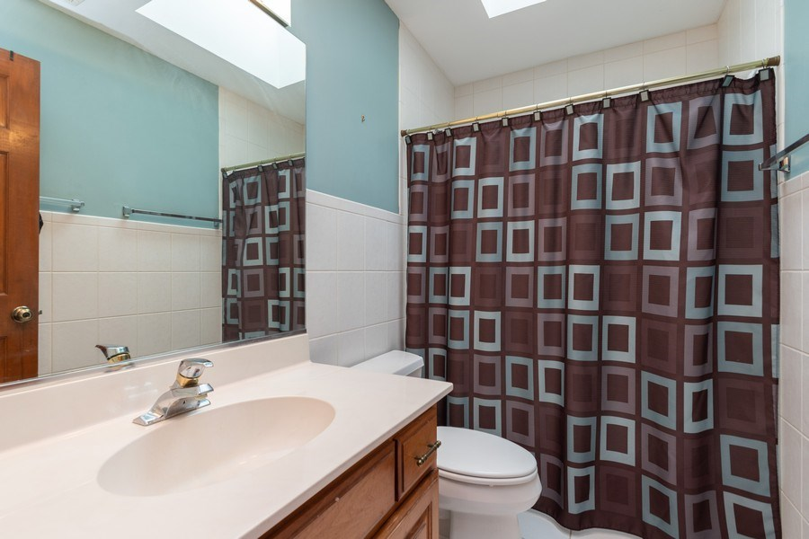 Real Estate Photography - 21212 Georgetown Road, Frankfort, IL, 60423 - 2nd Bathroom