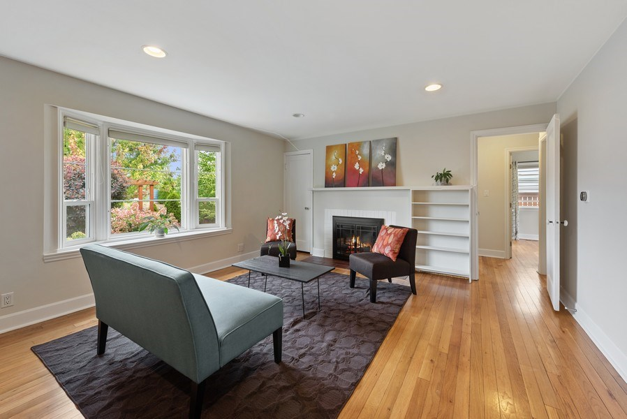 Real Estate Photography - 4207 S. Willow St, Seattle, WA, 98118 - Living Room