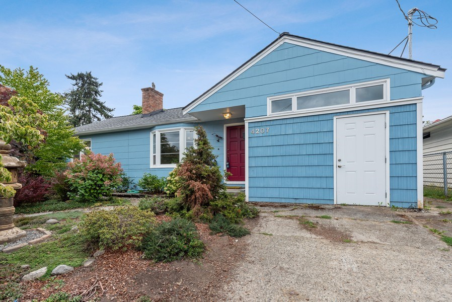 Real Estate Photography - 4207 S. Willow St, Seattle, WA, 98118 - Front View