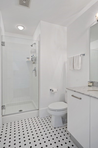 Real Estate Photography - 500 w superior, #1609, chicago, IL, 60654 - Bathroom