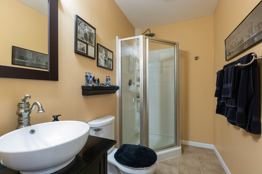 Real Estate Photography - 1500 Gander Ct, Crystal Lake, IL, 60014 - 3rd Bathroom