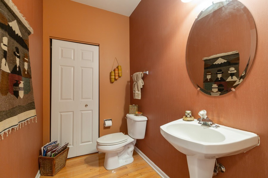 Real Estate Photography - 1500 Gander Ct, Crystal Lake, IL, 60014 - Powder Room