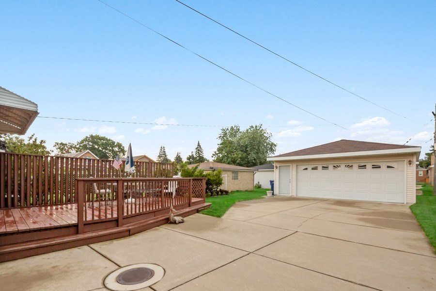 Real Estate Photography - 4303 Maple Ave, Stickney, IL, 60402 - Back Yard