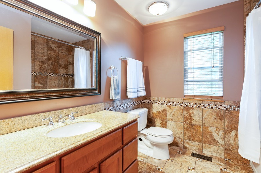Real Estate Photography - 1224 Sun Lake Court, Lake Villa, IL, 60046 - Master Bathroom
