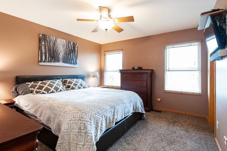 Real Estate Photography - 1224 Sun Lake Court, Lake Villa, IL, 60046 - Master Bedroom
