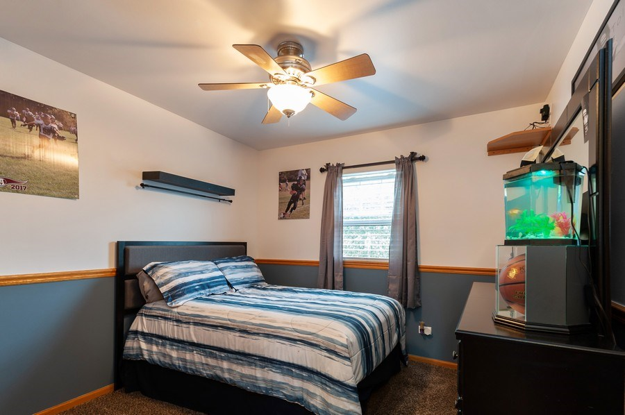 Real Estate Photography - 1224 Sun Lake Court, Lake Villa, IL, 60046 - Bedroom