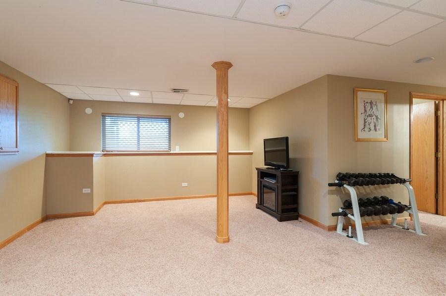 Real Estate Photography - 1224 Sun Lake Court, Lake Villa, IL, 60046 - Recreational Room