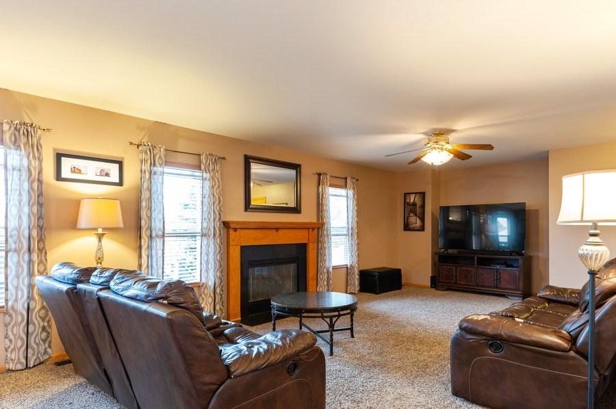 Real Estate Photography - 1224 Sun Lake Court, Lake Villa, IL, 60046 - Family Room
