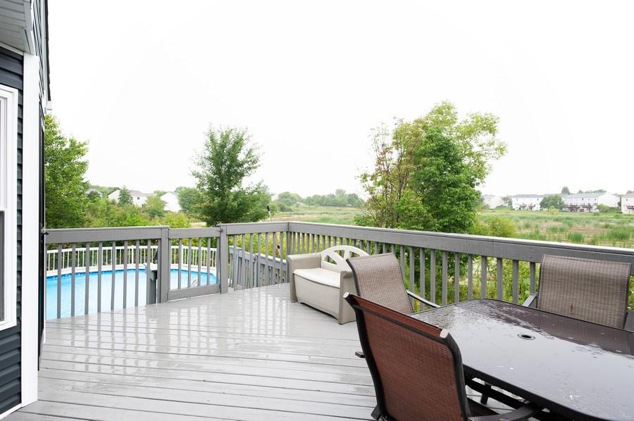 Real Estate Photography - 1224 Sun Lake Court, Lake Villa, IL, 60046 - Deck