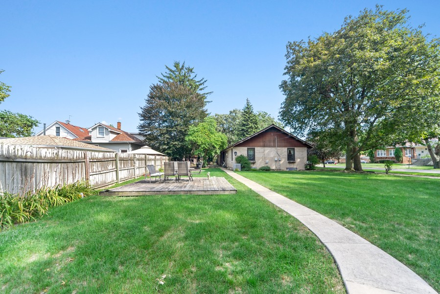 Real Estate Photography - 2800 Forest Ave, River Grove, IL, 60171 - Back Yard