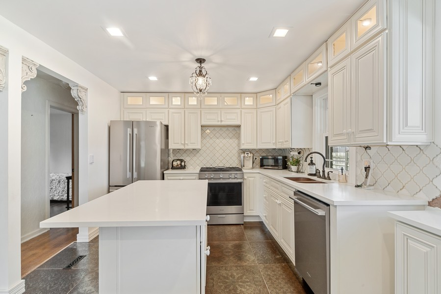 Real Estate Photography - 2800 Forest Ave, River Grove, IL, 60171 - Kitchen