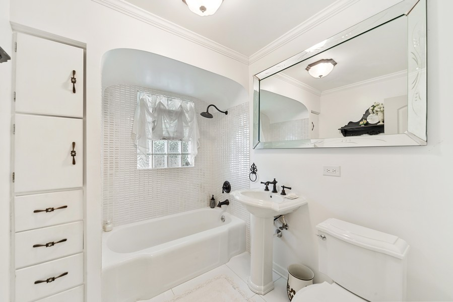 Real Estate Photography - 2800 Forest Ave, River Grove, IL, 60171 - Bathroom