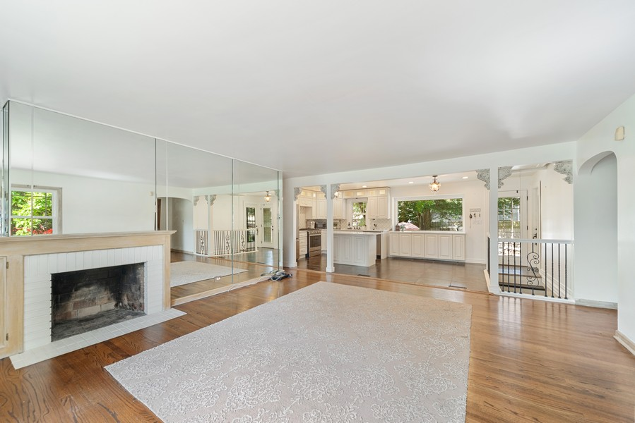 Real Estate Photography - 2800 Forest Ave, River Grove, IL, 60171 - Kitchen / Living Room