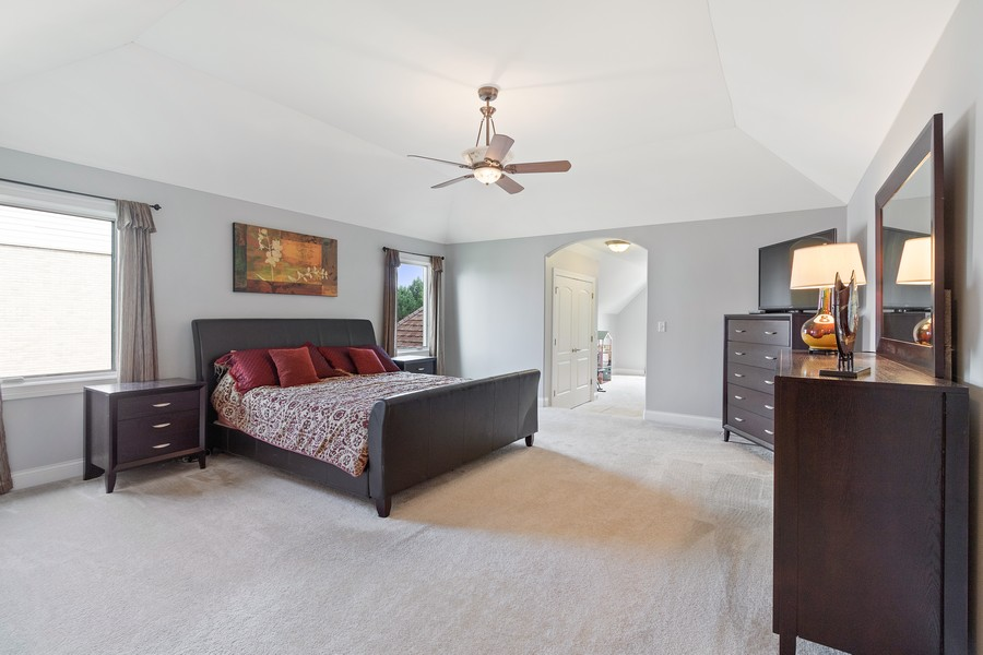 Real Estate Photography - 702 N.Morrision, Palatine, IL, 60067 - Master Bedroom