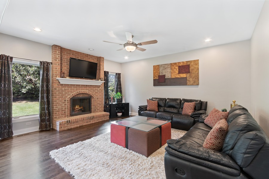 Real Estate Photography - 702 N.Morrision, Palatine, IL, 60067 - Family Room