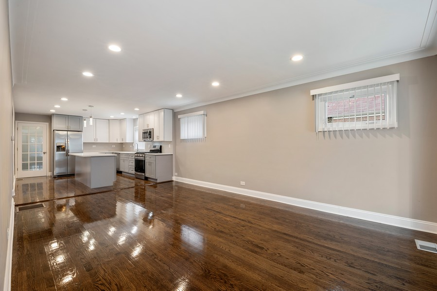 Real Estate Photography - 9043 Jeffery, Chicago, IL, 60617 - Living Room
