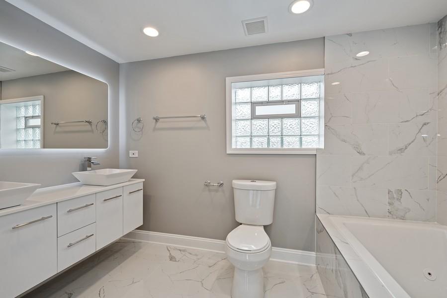 Real Estate Photography - 9043 Jeffery, Chicago, IL, 60617 - Master Bathroom