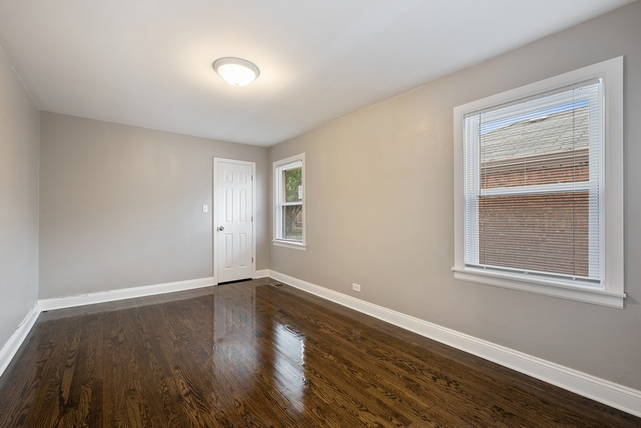Real Estate Photography - 9043 Jeffery, Chicago, IL, 60617 - 2nd Bedroom