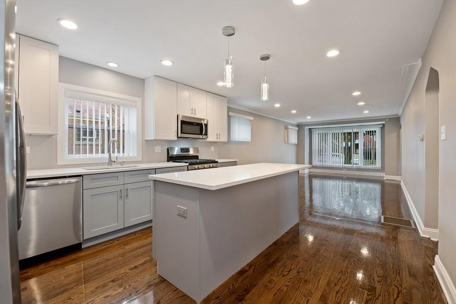 Real Estate Photography - 9043 Jeffery, Chicago, IL, 60617 - Kitchen