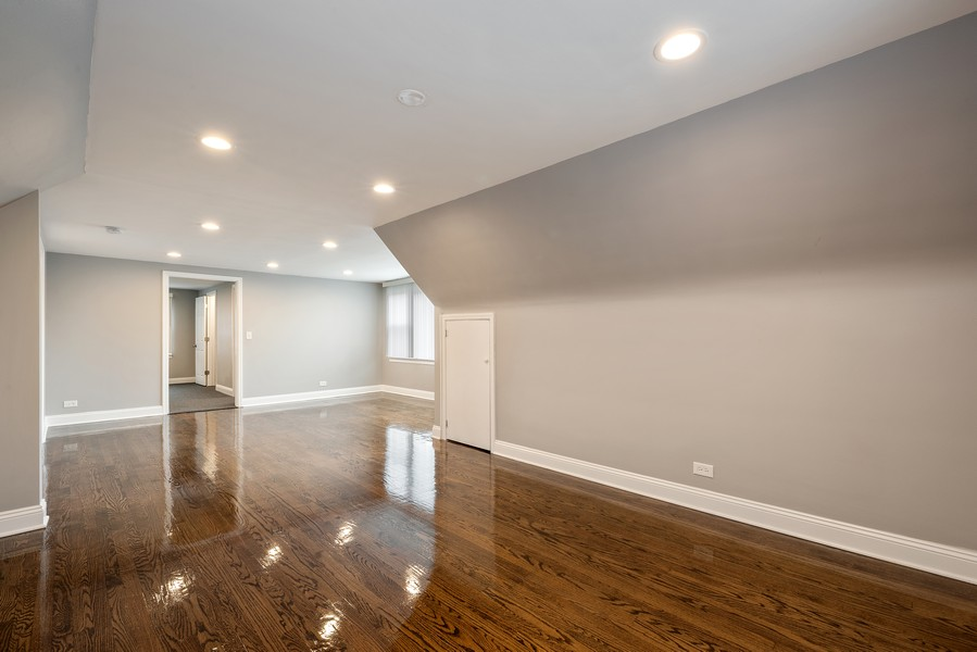 Real Estate Photography - 9043 Jeffery, Chicago, IL, 60617 - Master Bedroom