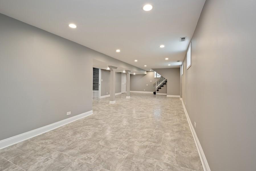 Real Estate Photography - 9043 Jeffery, Chicago, IL, 60617 - Basement