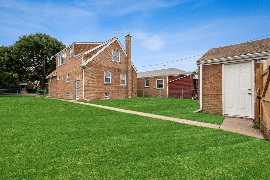 Real Estate Photography - 9043 Jeffery, Chicago, IL, 60617 - Back Yard